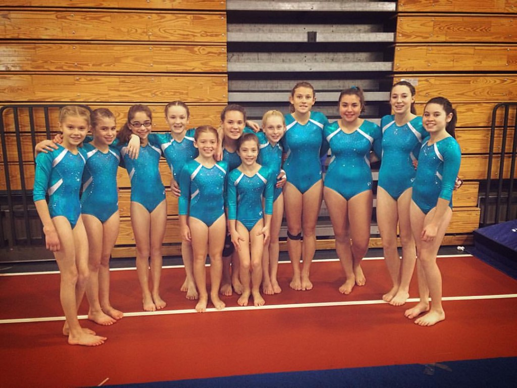 Clinton Turner Gymnastics Team competed at the annual Judges Cup Invitational